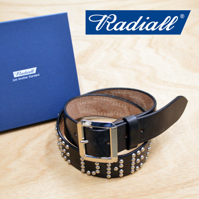 RADIALL(ラディアル) CHEVY-STUDDED GARRISON BELT 【2018 AUTUMN & WINTER COLLECTION】 【RAD-18AW-ACC008】