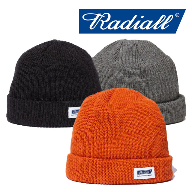RADIALL(ラディアル) C-10 - WATCH CAP 【2018 AUTUMN & WINTER SPOT COLLECTION】 【RAD-18AW-HAT004】