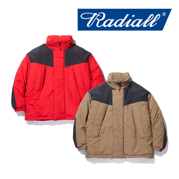 【SALE20%OFF】 RADIALL(ラディアル) RED WOOD - MONSTER PARKA SHORT 【2018 AUTUMN & WINTER COLLECTION】 【RAD-18AW-JK002】