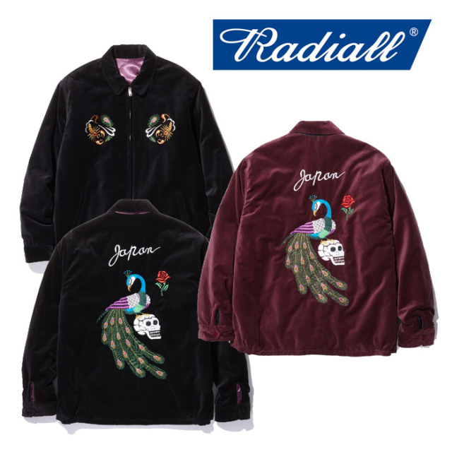 RADIALL(ラディアル) PEAFOWL-SOUVENIR JACKET 【2018 AUTUMN & WINTER COLLECTION】 【RAD-18AW-JK012】