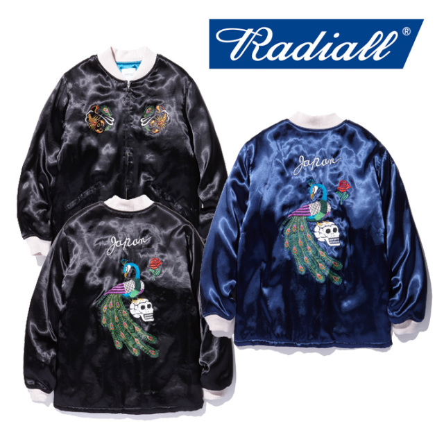 【SALE30%OFF】 RADIALL(ラディアル) PEAFOWL-SOUVENIR COAT 【2018 AUTUMN & WINTER COLLECTION】 【RAD-18AW-JK013】