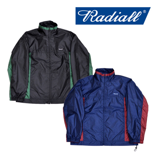 【SALE30%OFF】 RADIALL(ラディアル) SLOW RIDE -TRACK JACKET 【2018 AUTUMN & WINTER COLLECTION】 【RAD-18AW-JK023】