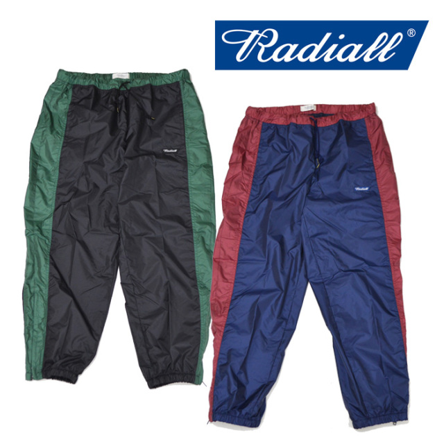【SALE30%OFF】 RADIALL(ラディアル) SLOW RIDE -TRACK PANTS 【2018 AUTUMN & WINTER COLLECTION】 【RAD-18AW-PT008】