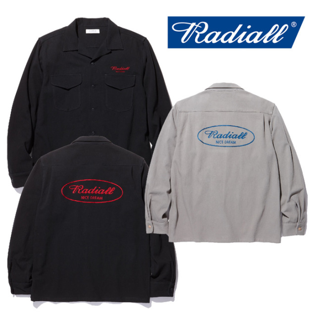 RADIALL(ラディアル) ROAD SIDE -OPEN COLLARED SHIRT L/S 【2018 AUTUMN & WINTER COLLECTION】 【RAD-18AW-SH008】