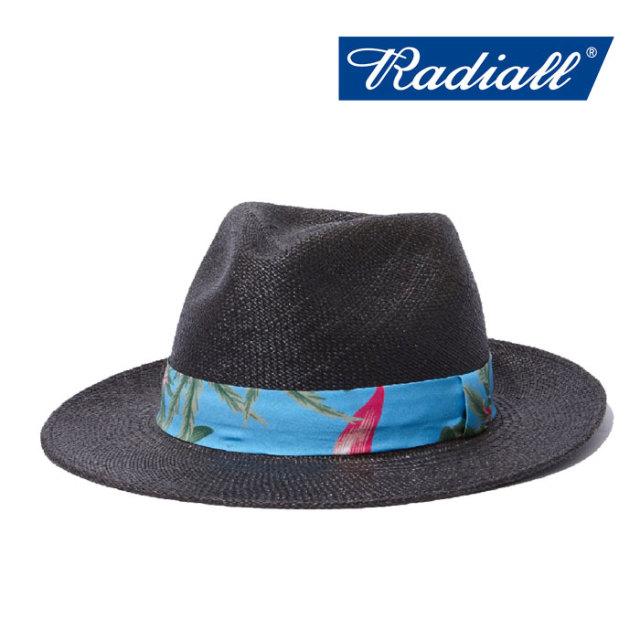 【SALE】 RADIALL(ラディアル) PURPLE PISTILS FEDORA HAT 【2018 SPRING&SUMMER新作】 【RADIALL ハット】 【RAD-18SS-HAT012