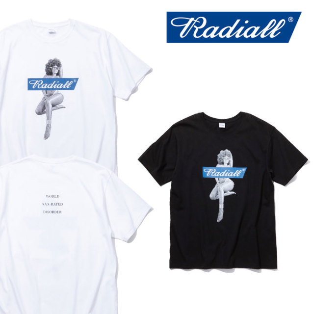 RADIALL(ラディアル) GALAXIE LADY CREW NECK T-SHIRT 【2018 SPRING&SUMMER新作】 【RADIALL Tシャツ】 【RAD-18SS-TEE003】