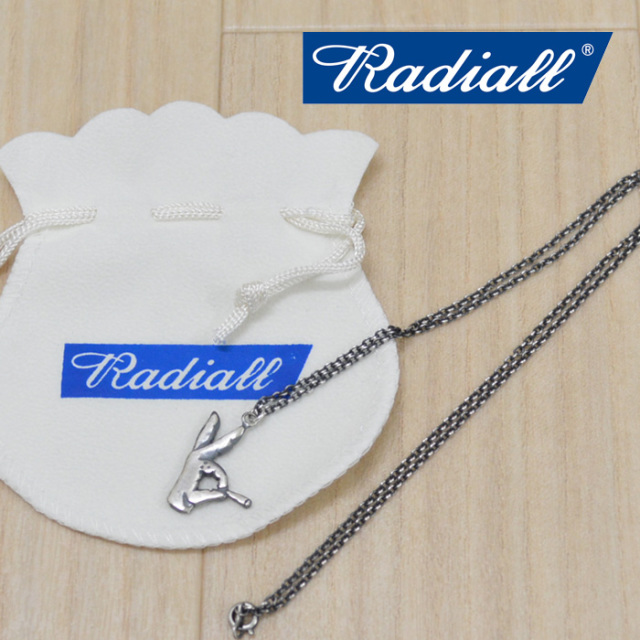 RADIALL(ラディアル) SOCIAL KLUB NECKLACE(SILVER) 【2018 AUTUMN & WINTER COLLECTION】 【RAD-JWL005-01】