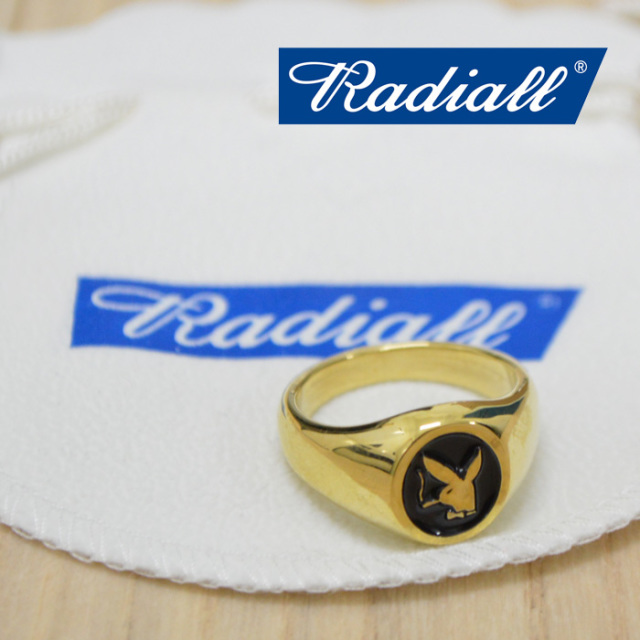 RADIALL(ラディアル) HEF-RING(BRASS) 【2018 AUTUMN & WINTER COLLECTION】 【RAD-JWL007-02】