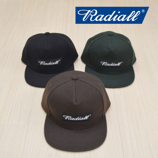 RADIALL(ラディアル) CHEECH'S- B.B. CAP 【2018 WINTER SPOT新作】 【RAD-18SS-SPOT-HAT04】