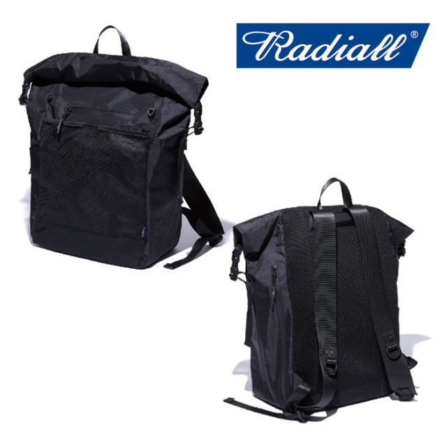 RADIALL(ラディアル) SMOKEY CAMPER -ROLLTOP BACK PACK 【2018 AUTUMN&WINTER新作】 【RADIALL バッグ】 【RAD-XPC004】