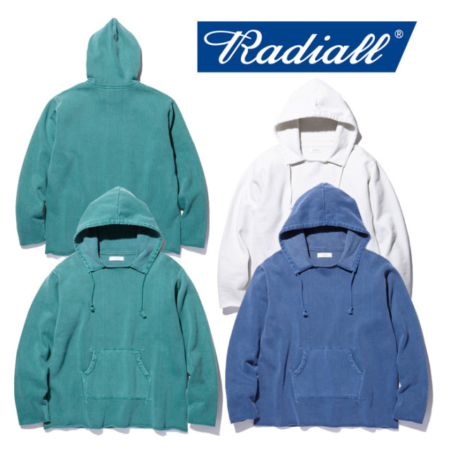 RADIALL(ラディアル) NOVA-HOODIE SWEATSHIRT 【2018 AUTUMN & WINTER COLLECTION】 【RAD-18AW-CUT001】