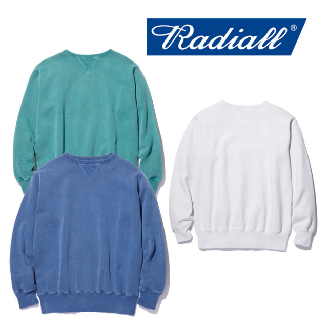 【SALE20%OFF】 RADIALL(ラディアル) NOVA-CREW NECK SWEATSHIRT 【2018 AUTUMN & WINTER COLLECTION】 【RAD-18AW-CUT002】