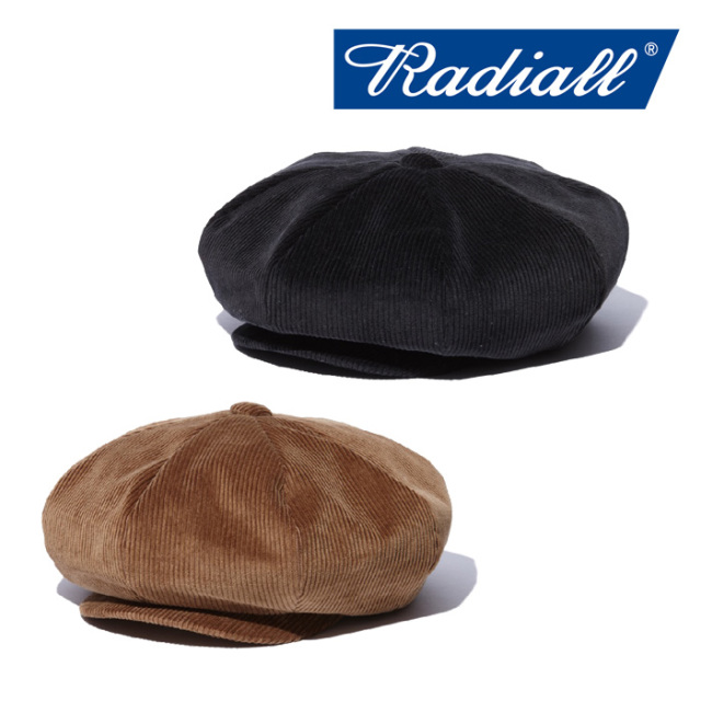 RADIALL(ラディアル) ATLANTIC -CASQUETTE 【2018 AUTUMN & WINTER COLLECTION】 【RAD-18AW-HAT005】
