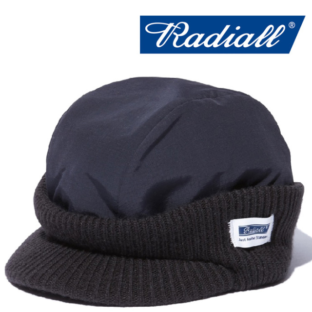 RADIALL(ラディアル) STORM-WATCH CAP 【2018 AUTUMN & WINTER COLLECTION】 【RAD-18AW-HAT007】