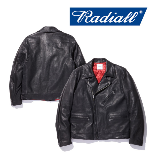 RADIALL(ラディアル) BONNIE - RIDERS JACKET 【2018 AUTUMN & WINTER COLLECTION】 【RAD-18AW-JK004】