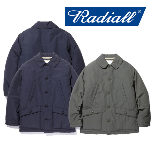 RADIALL(ラディアル) STORM- DECK COAT 【2018 AUTUMN & WINTER COLLECTION】 【RAD-18AW-JK007】【デッキコート】