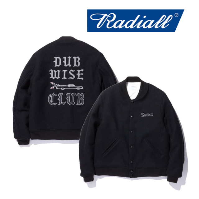RADIALL(ラディアル) DUBWISE -AWARD JACKET 【2018 AUTUMN & WINTER COLLECTION】 【RAD-18AW-JK015】