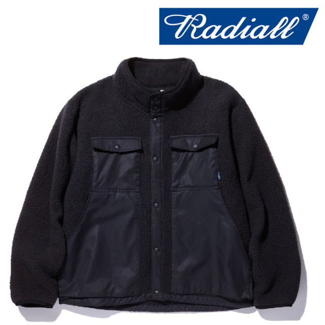 RADIALL(ラディアル) SMOKEY CAMPER - FLEECE  JACKET 【2018 AUTUMN & WINTER COLLECTION】 【RAD-18AW-JK018】【フリース】