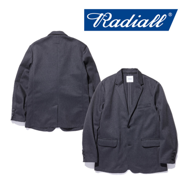 【SALE30%OFF】 RADIALL(ラディアル) MONTE CARLO - TAILORED JACKET 【2018 AUTUMN & WINTER COLLECTION】 【RAD-18AW-JK022】