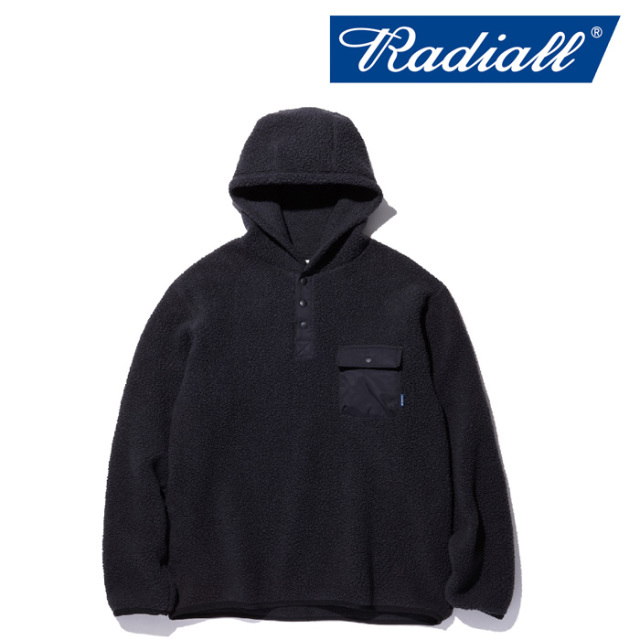 RADIALL(ラディアル) SMOKEY CAMPER - FLEECE PARKA JACKET 【2018 AUTUMN & WINTER COLLECTION】 【RAD-18AW-JK030】【フリース