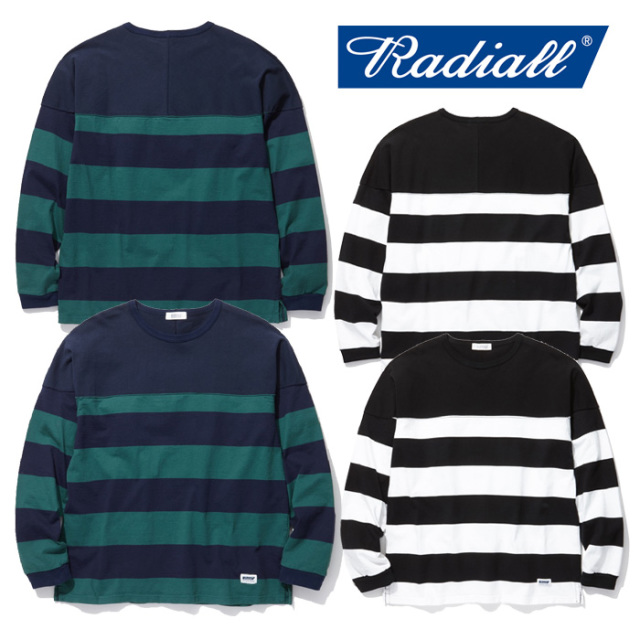 RADIALL(ラディアル) BOARD WALK- C.N. T-SHIRT L/S 【2019 SPRING&SUMMER COLLECTION】 【RAD-19SS-CUT008】【ボーダー】