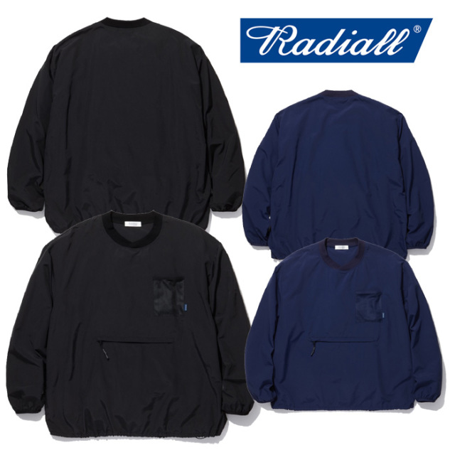 RADIALL(ラディアル) YOSEMITE- C.N. T-SHIRT L/S 【2019 SPRING&SUMMER COLLECTION】 【RAD-19SS-CUT017】【プルオーバーシャツ