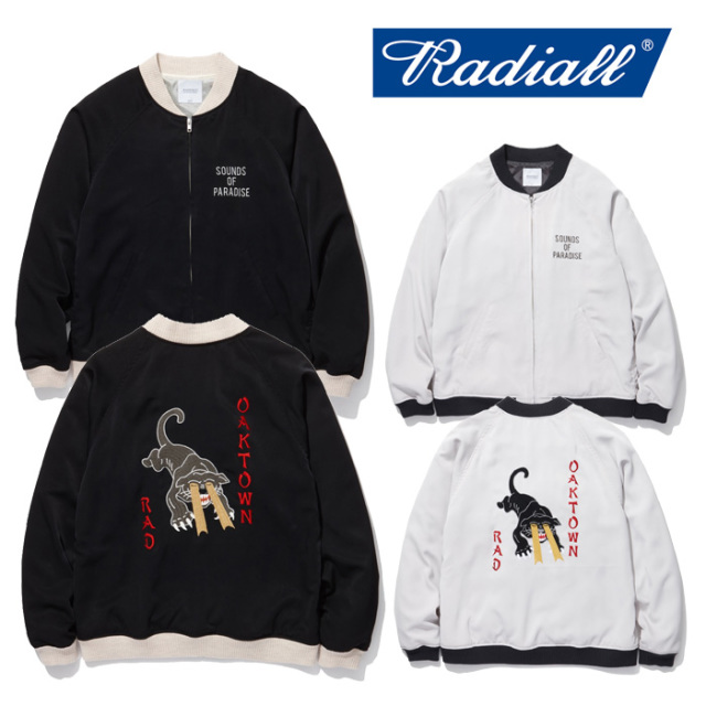 RADIALL(ラディアル) OAKTOWN - SOUVENIR JACKET 【2019 SPRING&SUMMER COLLECTION】 【RAD-19SS-JK001】【スーベニアジャケット