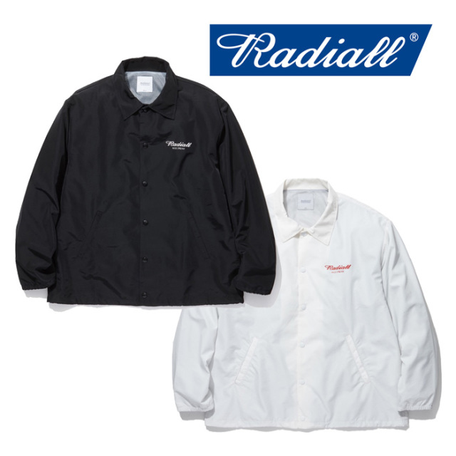 RADIALL(ラディアル) OVAL - WINDBREAKER JACKET 【2019 SPRING&SUMMER COLLECTION】 【RAD-19SS-JK003-1】【コーチジャケット】