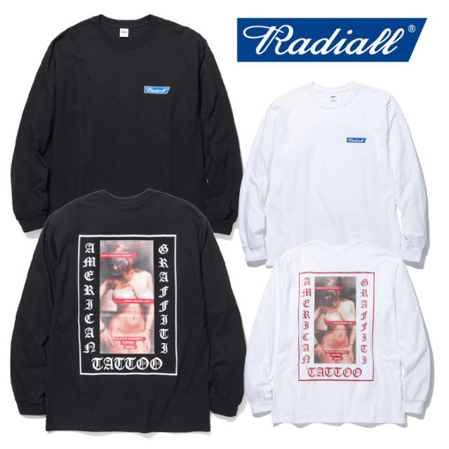 RADIALL(ラディアル) USC- C.N. T-SHIRT L/S 【2019 SPRING&SUMMER COLLECTION】 【RAD-19SS-TEE012】【ロングスリーブTシャツ】