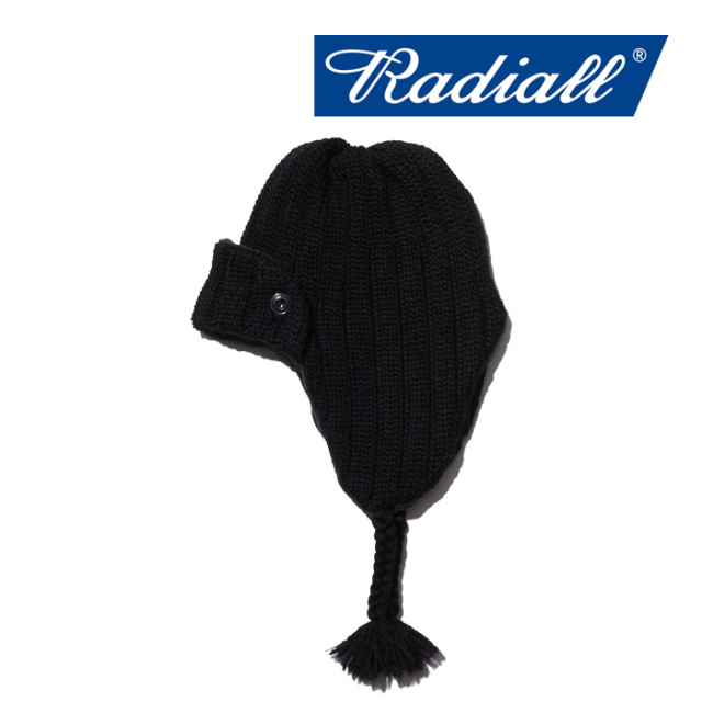 RADIALL(ラディアル) CRYPT - FLIGHT CAP 【2018 AUTUMN & WINTER SPOT COLLECTION】 【RAD-18AW-HAT009】