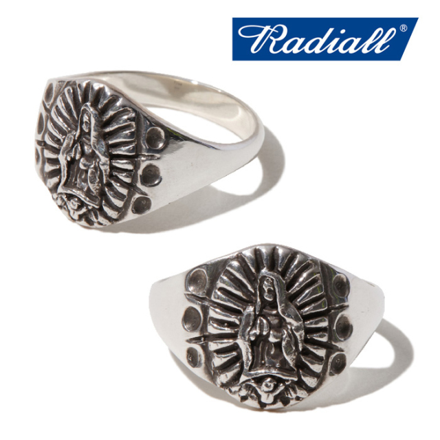 RADIALL(ラディアル) LOWRIDER CHARM ‐ PINKY RING(SILVER) 【2019 SPRING&SUMMER COLLECTION】 【RAD-19SS-JWL020-01】【リング