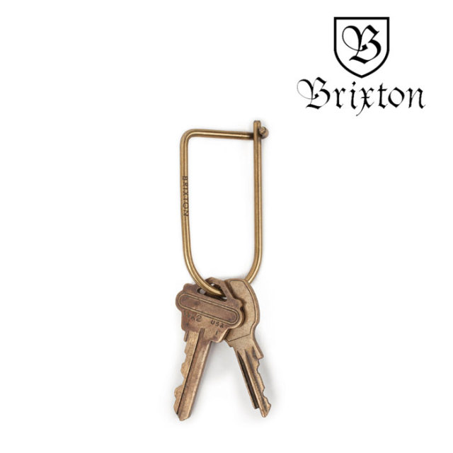 BRIXTON(ブリクストン) STIPE KEY CLIP 【2018SUMMER新作】 【即発送可能】 【BRIXTON キークリップ】