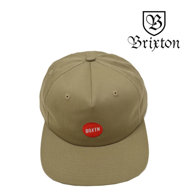 BRIXTON(ブリクストン) STROPLE SNBK CAP 【2018SUMMER新作】 【即発送可能】 【BRIXTON キャップ】