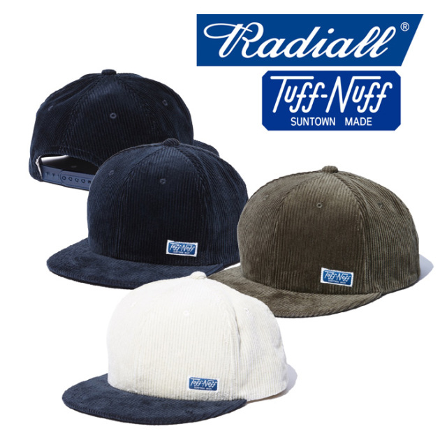 RADIALL(ラディアル) T.N. TRUCKERCAP 【2018 AUTUMN & WINTER COLLECTION】 【TN-18AW-HAT001】