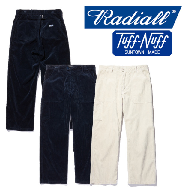 【SALE30%OFF】 RADIALL(ラディアル) T.N. UTILITY PANTS 【2018 AUTUMN & WINTER COLLECTION】 【TN-18AW-PT005】【コーデュロ