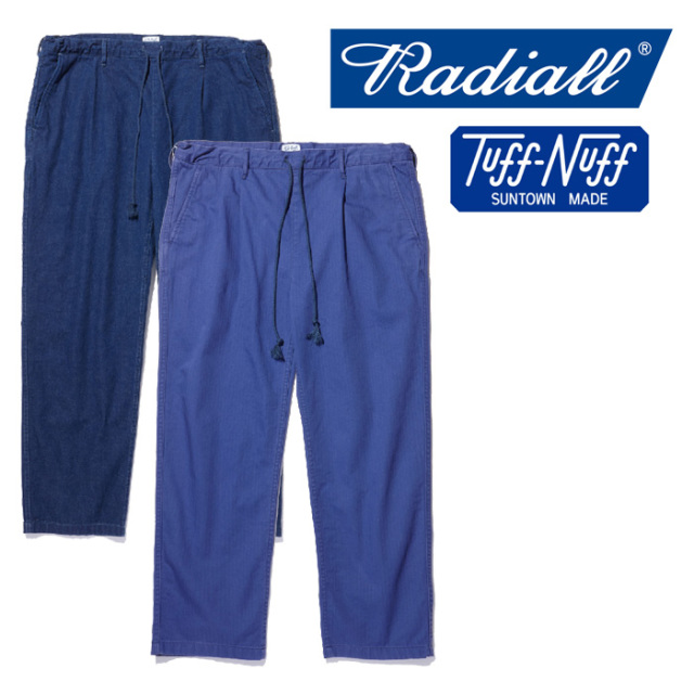 RADIALL(ラディアル) T.N. -EASY PANTS 【2018 AUTUMN & WINTER COLLECTION】 【TN-18AW-PT006】
