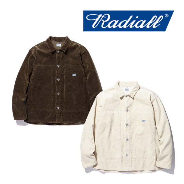 RADIALL(ラディアル) T.N. - CARPENTER SHIRT 【2018 AUTUMN & WINTER COLLECTION】 【TN-18AW-SH016】