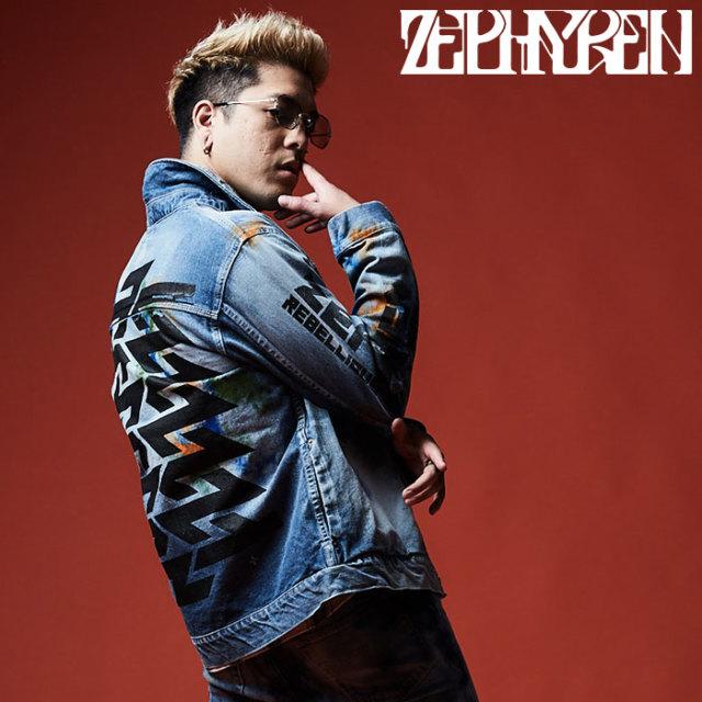 ZEPHYREN(ゼファレン) DENIM JKT 【デニムジャケット】【Z16AA01】 【2020SPRING&SUMMER先行予約】【キャンセル不可】