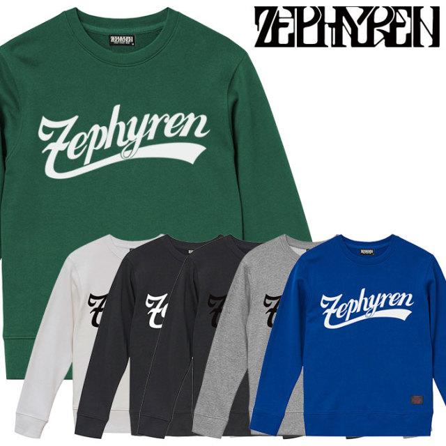 ZEPHYREN(ゼファレン) SWEAT - BEYOND - 【クルーネックスウェット】【Z16AO01】 【2020SPRING&SUMMER先行予約】【キャンセル不可