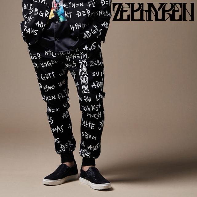 ZEPHYREN(ゼファレン) JERSEY SLACKS 【パンツ】【Z17AQ03】 【2020SPRING&SUMMER先行予約】【キャンセル不可】