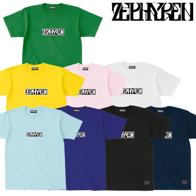 ZEPHYREN(ゼファレン) S/S TEE - PROVE - 【Tシャツ】【Z18PL05】 【2020SUMMER先行予約】【キャンセル不可】