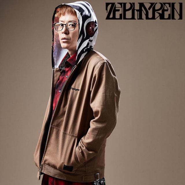 ZEPHYREN(ゼファレン) HOOD GRAPHIC JKT 【フードジャケット】【Z20PA01】 【2020SPRING&SUMMER先行予約】【キャンセル不可】