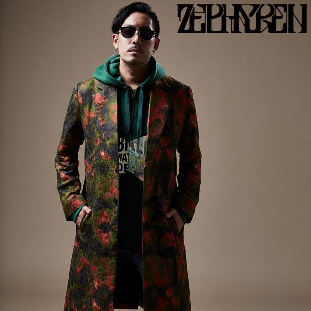 ZEPHYREN(ゼファレン) CHESTER COAT 【チェスターコート】【Z20PA06】 【2020SPRING&SUMMER先行予約】【キャンセル不可】