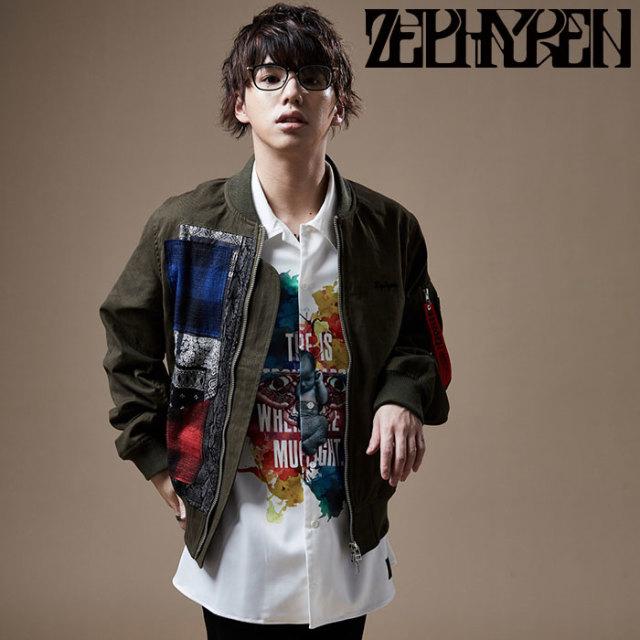 ZEPHYREN(ゼファレン) PHOTO PRINT SHIRT S/S 【プリントシャツ】【Z20PC25】 【2020SPRING&SUMMER先行予約】【キャンセル不可】