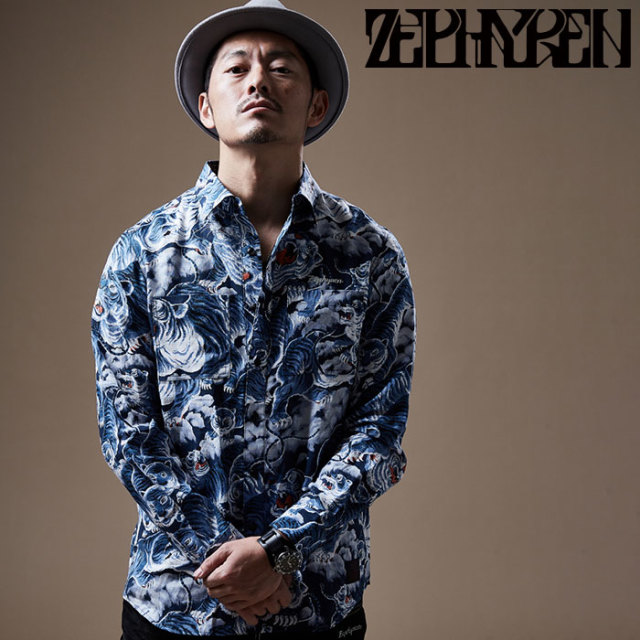ZEPHYREN(ゼファレン) SHIRT L/S    【シャツ 長袖】【Z20PD09】 【2020SPRING&SUMMER先行予約】【キャンセル不可】