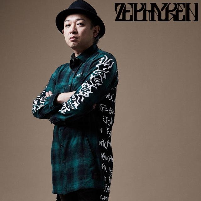 ZEPHYREN(ゼファレン) SWITCHING SHIRT L/S   【シャツ 長袖】【Z20PD12】 【2020SPRING&SUMMER先行予約】【キャンセル不可】