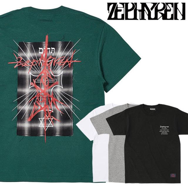 ZEPHYREN(ゼファレン) S/S TEE - Gott Ist Todt - 【Tシャツ】【Z20PL47】 【2020SPRING&SUMMER先行予約】【キャンセル不可】