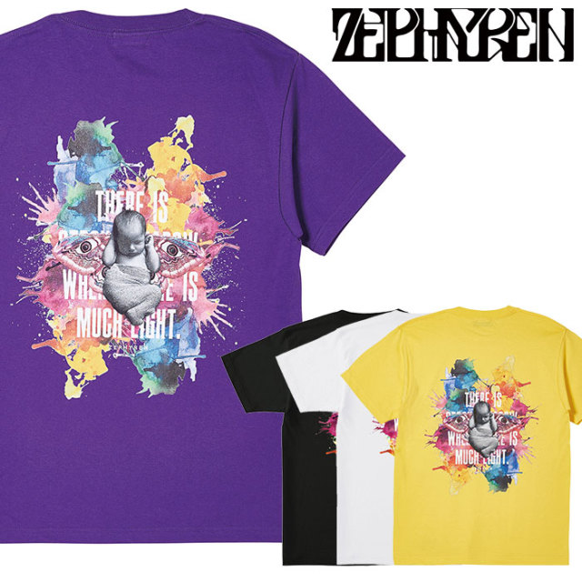 ZEPHYREN(ゼファレン) S/S TEE - Raw color - 【Tシャツ】【Z20PL49】 【2020SPRING&SUMMER先行予約】【キャンセル不可】