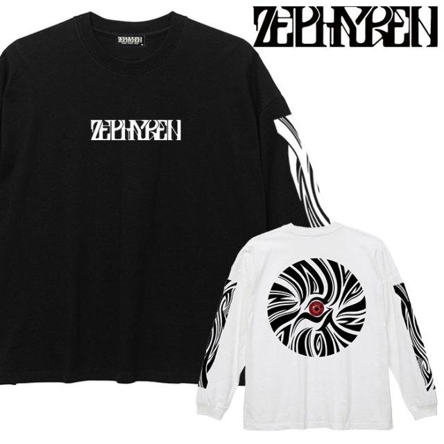 ZEPHYREN(ゼファレン) BIG L/S TEE - VISIONARY/zebra eye - 【ロングスリーブTシャツ】【Z20PM21】 【2020SPRING&SUMMER先行予約