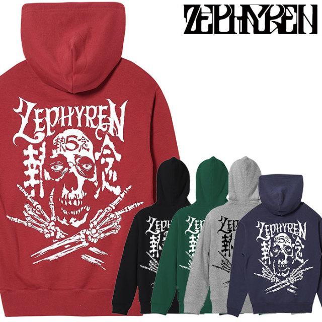 ZEPHYREN(ゼファレン) ZIP PARKA - SKULL HEAD5執念 【パーカー】【Z20PN29】 【2020SPRING&SUMMER先行予約】【キャンセル不可】
